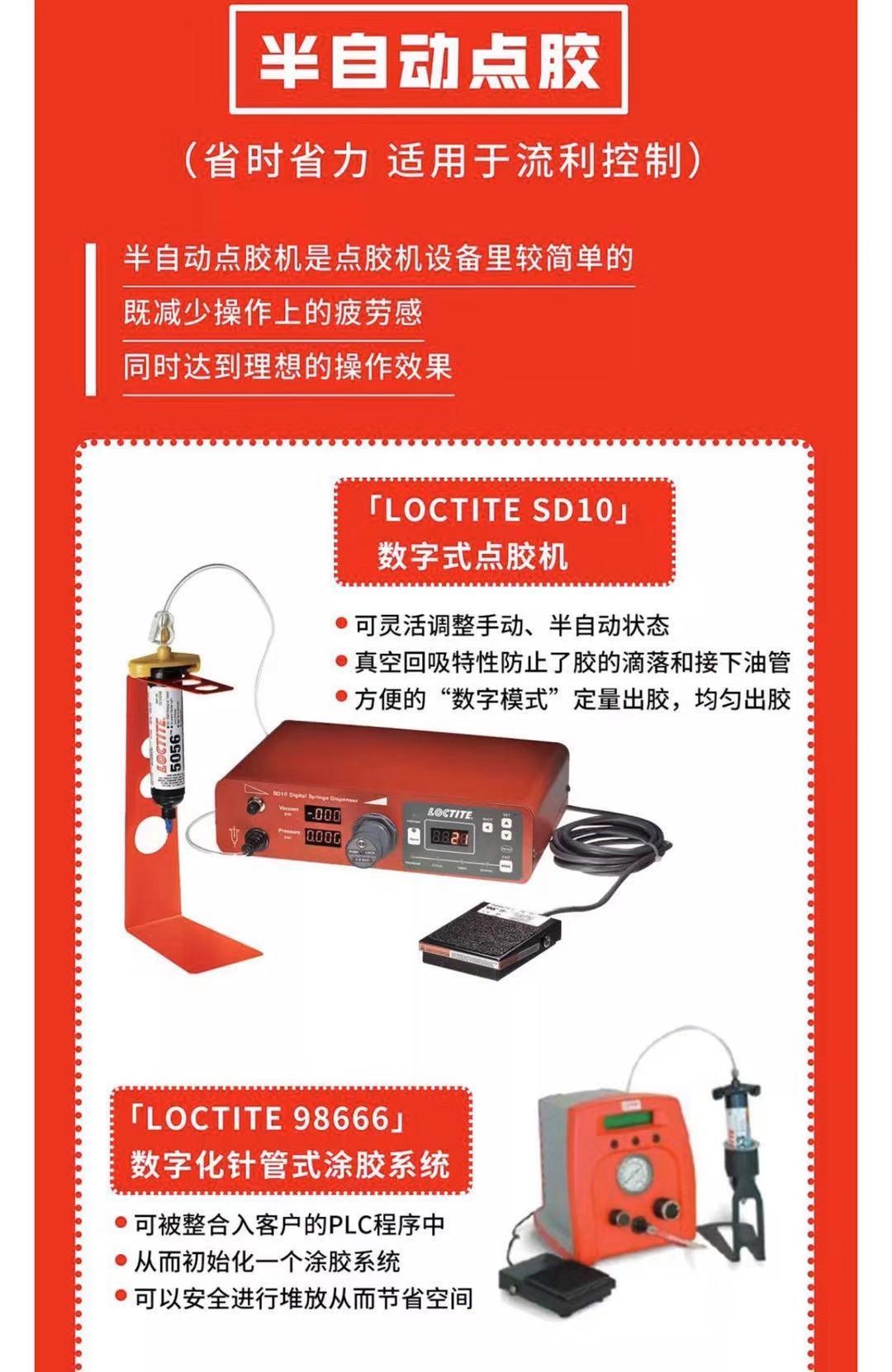 数字化针管式涂胶系统-LOCTITE98666