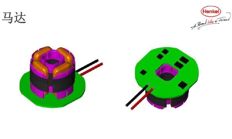 微电机马达678热熔胶